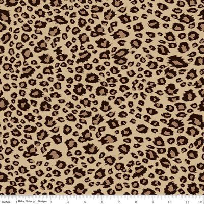 On Safari  - Leopard Brown