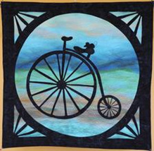 On Your Bike by GourmetQuilter