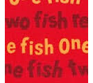 One Fish Two Fish 16330 Red