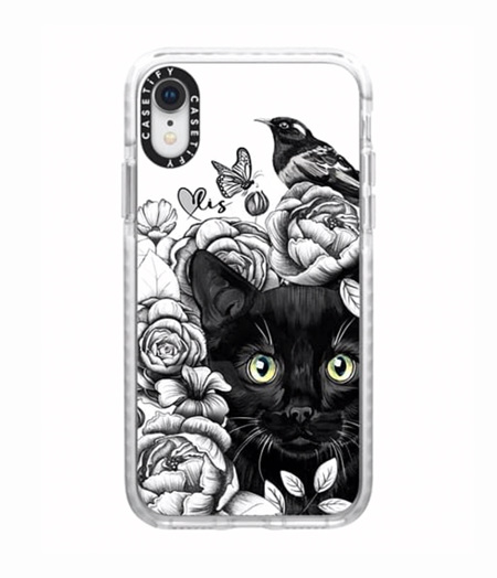 one only - iPhone XR phone case - kitty