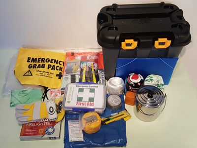 One Person Comprehensive Emergency Kit