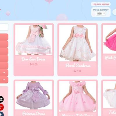 Online  Kids Boutique - All 4 Me