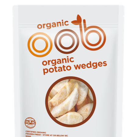 OOB Frozen Potato Wedges 500g
