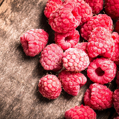 Oob Frozen Raspberries 1kg