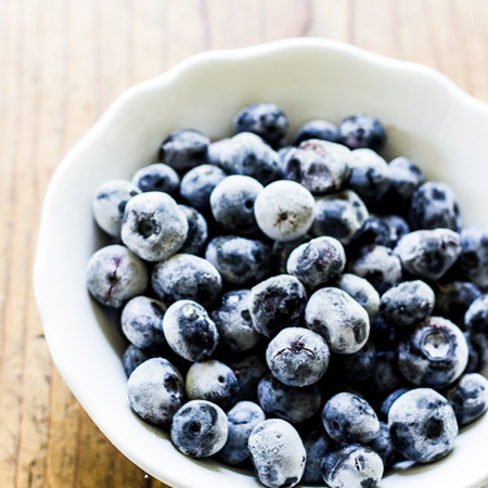 Oob & Natural Cool Frozen Organic Blueberries - 2 Sizes