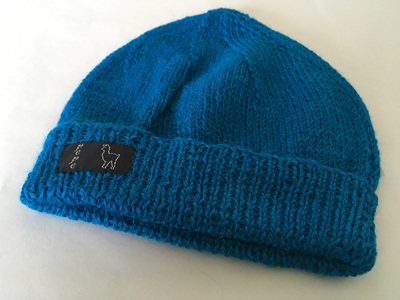 Opal Knitted Hat 4 Ply 100% Alpaca