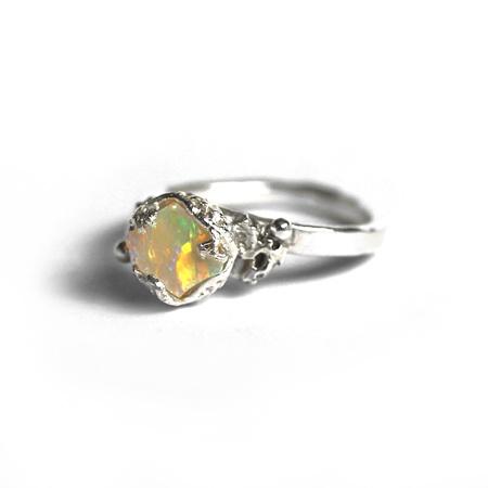 Opal Reef Ring
