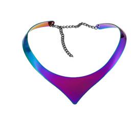 Open Bib Collar - Multicoloured