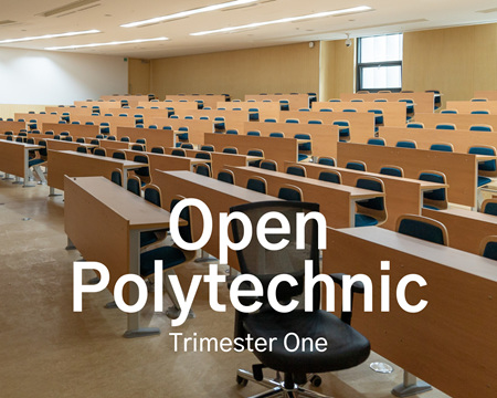 Open Polytechnic Trimester One