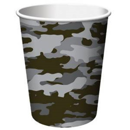 Operation Black Camo - Party Cups