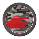 Operation Black Camo - Party Plates