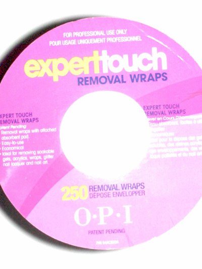 OPI - Expert Touch Removal Wraps
