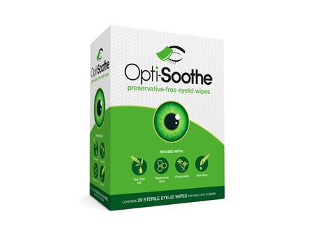 Opti-Soothe Eyelid Wipes