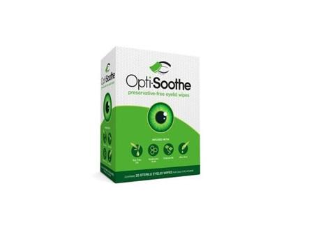 Opti-Soothe Eyelid Wipes 20 pack