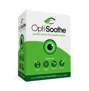 Opti-Soothe Eyelid Wipes