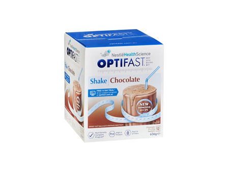 OPTIFAST Shake Chocolate Meal Replacement 12x53g