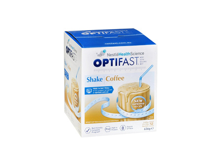 OPTIFAST Shakes Coffee Meal Replacement 12x53g