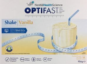 Optifast Vanilla Shake 18x53g
