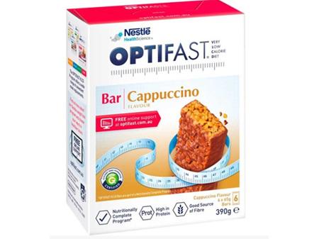 OPTIFAST VLCD Bar Cappuccino 6x65g