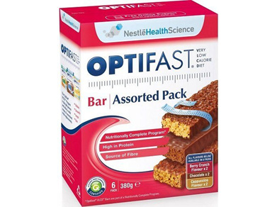 Optifast VLCD Bars Assorted 6x60g