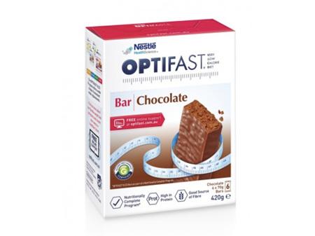 OPTIFAST VLCD Bars Chocolate 6 x 70g