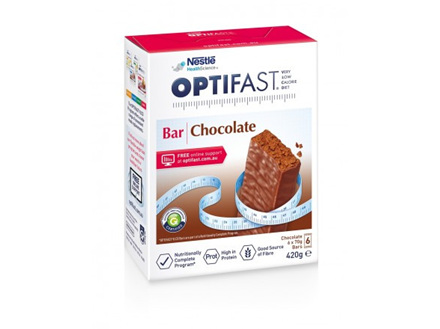 Optifast VLCD Bars - Chocolate 6x70g