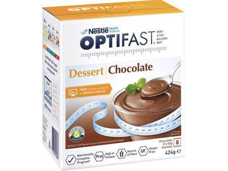 OPTIFAST VLCD Dessert Chocolate 8 x 53g