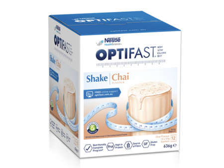 OPTIFAST VLCD Shake Chai 12 x 53g