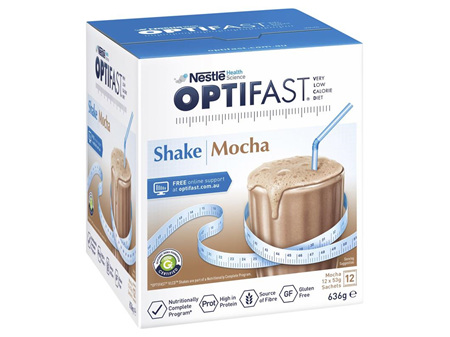 OPTIFAST VLCD Shake Mocha 12x53g