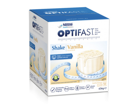 OPTIFAST VLCD Shake Vanilla 12 x 53g