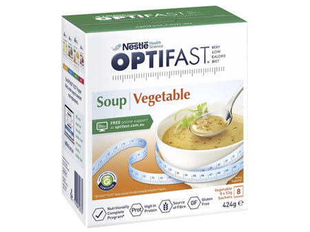 Optifast VLCD Soup Vegetable 8 x 53g
