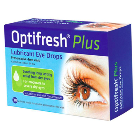 OPTIFRESH PLUS EYE DROPS 1% 30