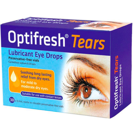 OPTIFRESH TEARS EYE DROPS 0.5% 30