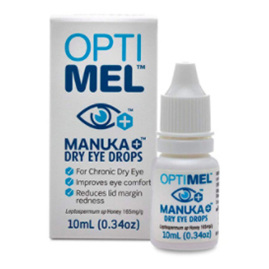 OPTIMEL MANUKA DRY E/DROPS 10ML