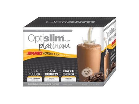Optislim VLDC Platinum Shake Coffee 25g X 21