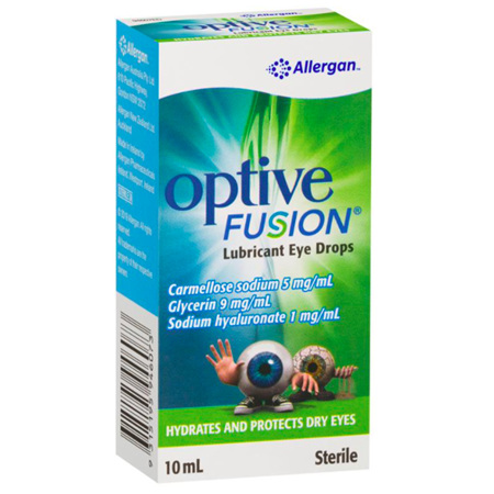 OPTIVE FUSN EYE DROPS 10ML