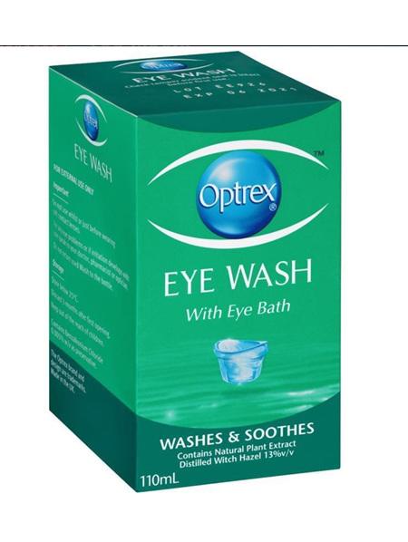 OPTREX Eye Wash with Bath 110ml