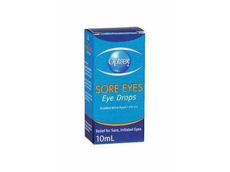 OPTREX Sore Eyes Drops 10ml