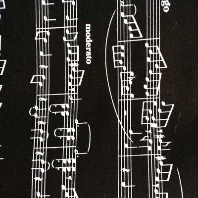 Opus Sheet Music Black