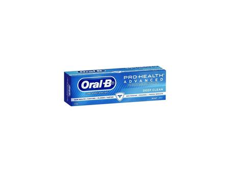 ORAL B Advanced Deep Clean Toothpaste 110g
