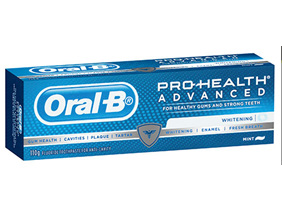 ORAL B Advanced Whitening 110g