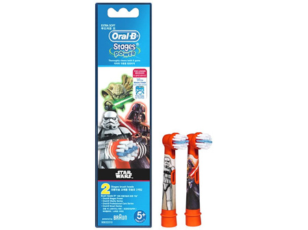 Oral B Kids Brush Heads Star Wars - 2 Pack