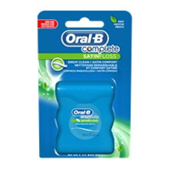 Oral B Satin Tape Floss Mint 25m