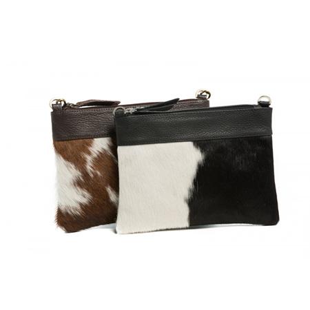 Oran Leather Annette Hide Clutch
