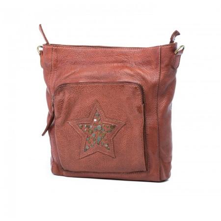 Oran Leather Riley Satchel