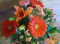Orange and Apricot Bouquet