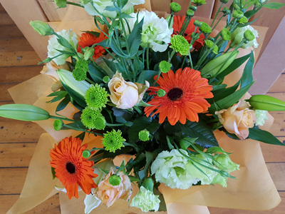 Orange and Apricot Bouquet