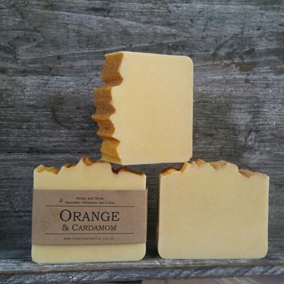 Orange and Cardamom Soap