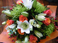 Orange and Lime Bouquet