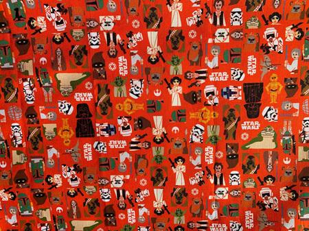 Orange Fabric Tones Lot 1